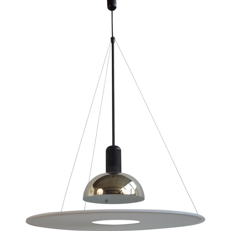 Vintage hanging lamp by Castiglioni 1970s