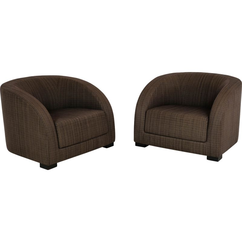 Pair of Essex armchairs by Armani Casa