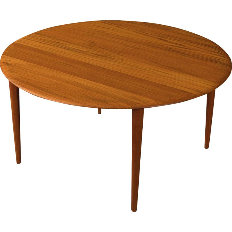 Vintage coffee table by Peter Hvidt Denmark 1960s