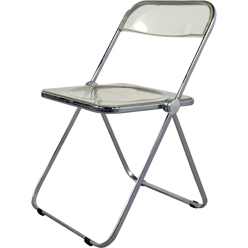 Vintage metal folding chair 1960s