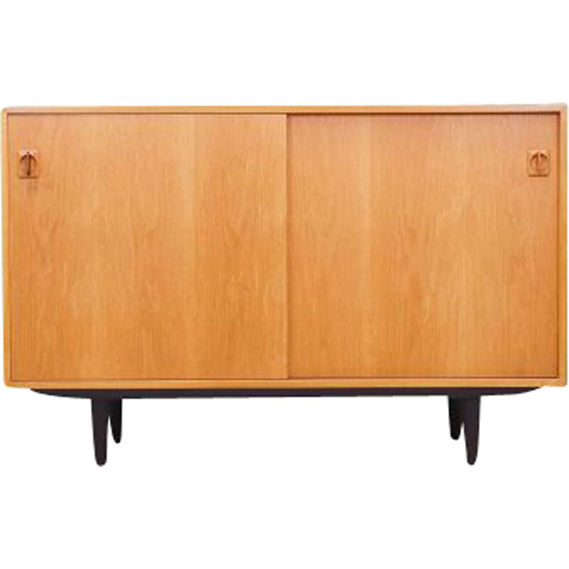Vintage chest of drawers in ash wood Denmark 1970s