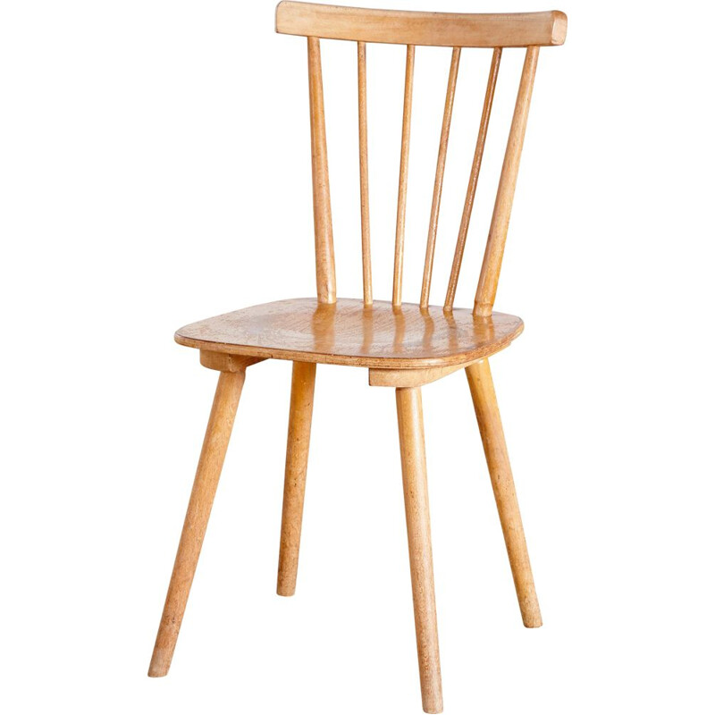 Vintage beech chair simple