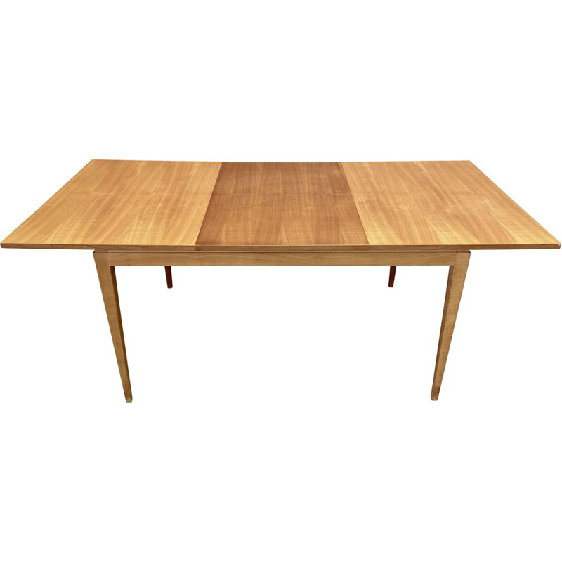 Vintage beech high table 1950s