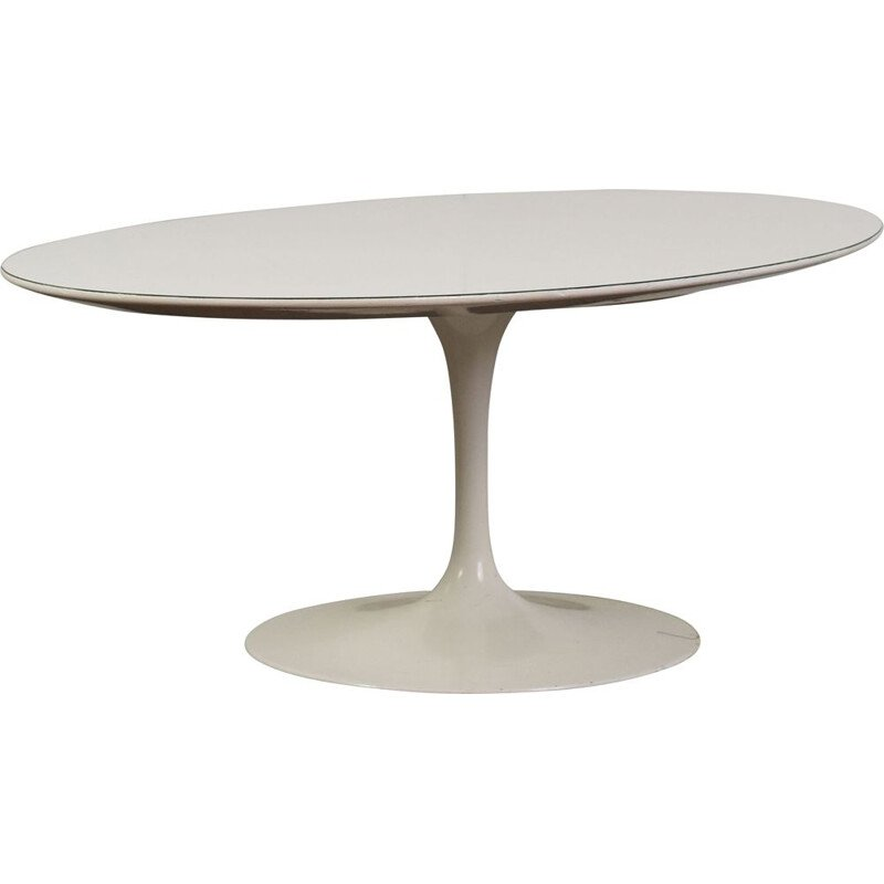 Vintage oval coffee table Saarinen by Eero Saarinen 1957s