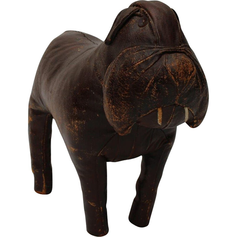 Vintage dog sculpture by Dimitri Omersa 1960s