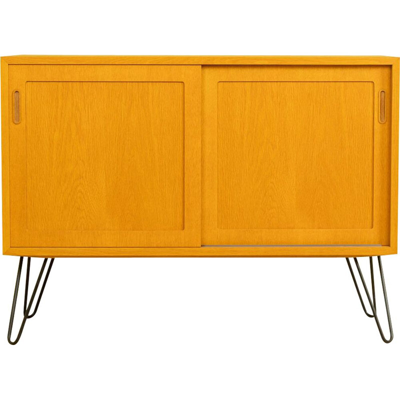 Vintage solid wood chest of drawers by Poul Hundevad Denmark 1960s
