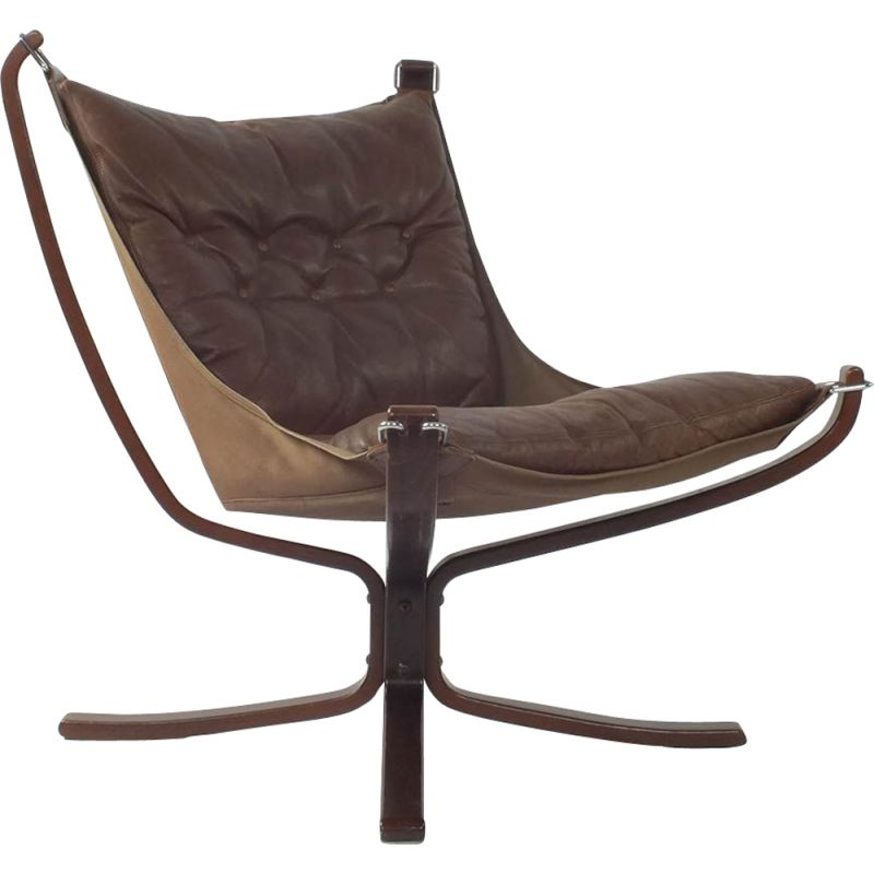 Vintage Falcon chair by Sigurd Ressell, Norway 1970