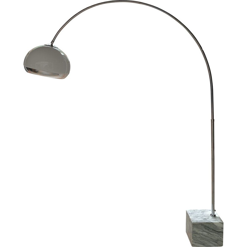 Vintage Arc floor lamp by Harvey Guzzini 1970