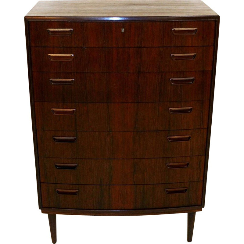 Vintage rosewood chiffonier 1960s