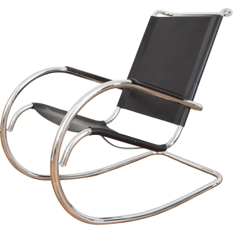 Vintage rocking chair from Fasem 1960s