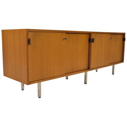 Sideboard in rosewood, Florence KNOLL - 1970s