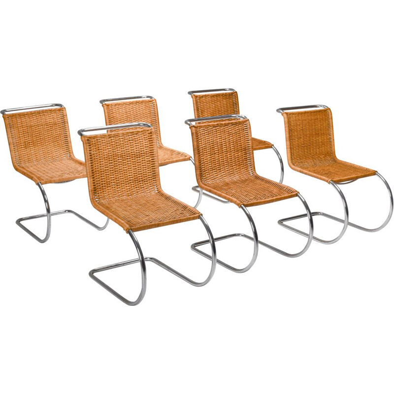Pair of vintage Bauhaus chairs by Marcel Breuer for Thonet