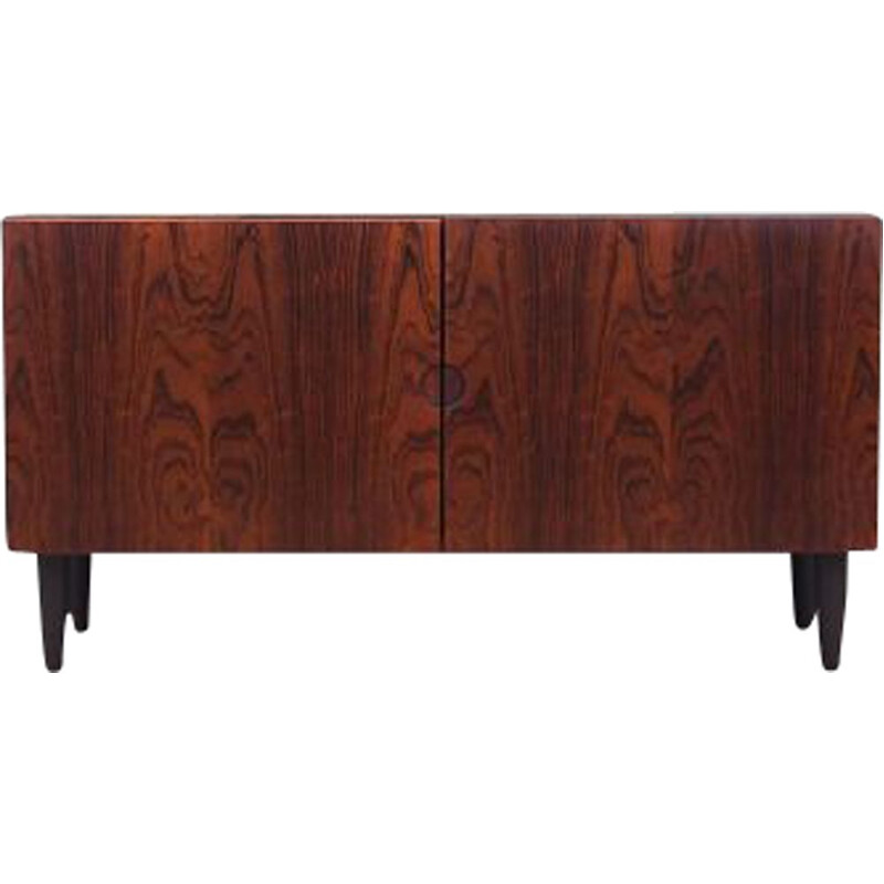 Vintage rosewood chest of drawers by Bramin 1970s
