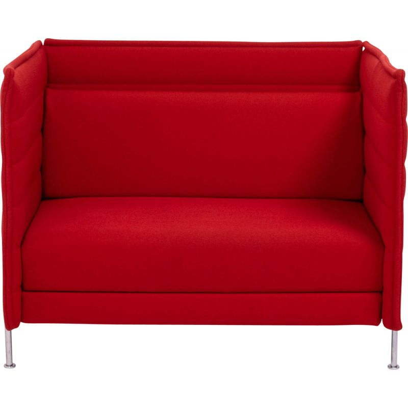 Vintage sofa bed red 2006s