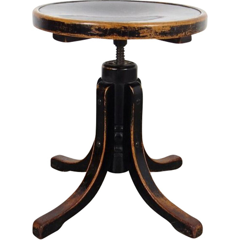 Vintage stool by Thonet