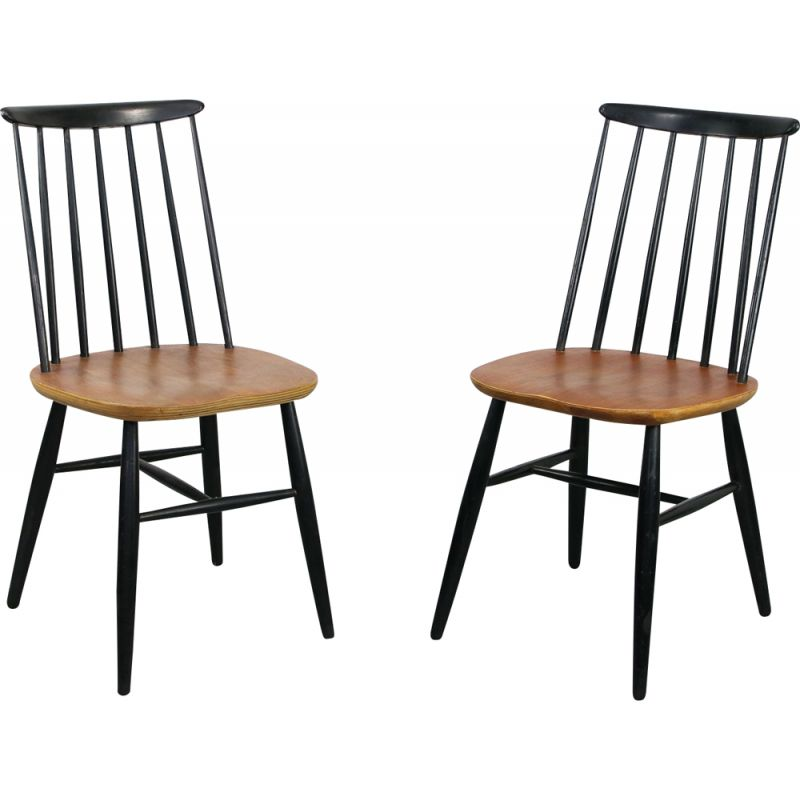Pair of vintage chairs, Fanett style