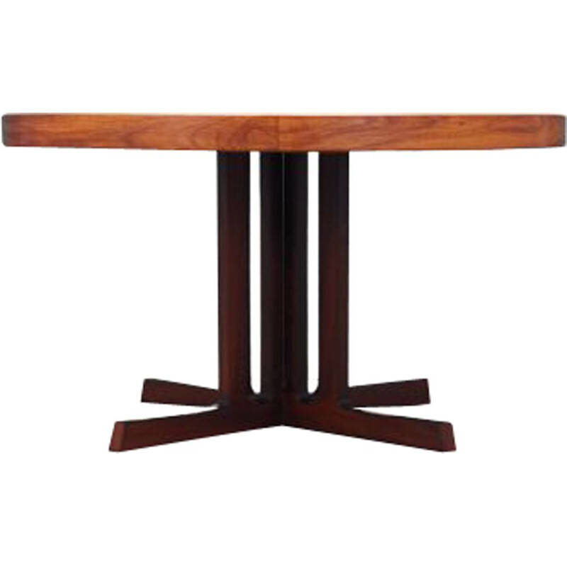 Vintage rosewood table by Hans Bech 1970s