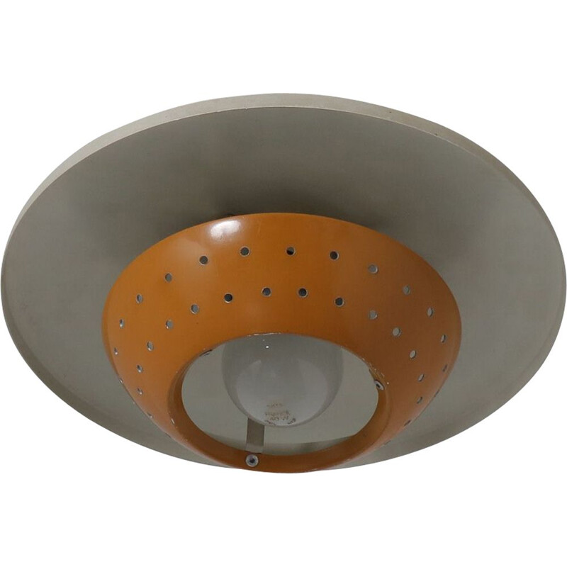 1950s Small ceiling lamp by Louis Kalff for Philips, Netherlands