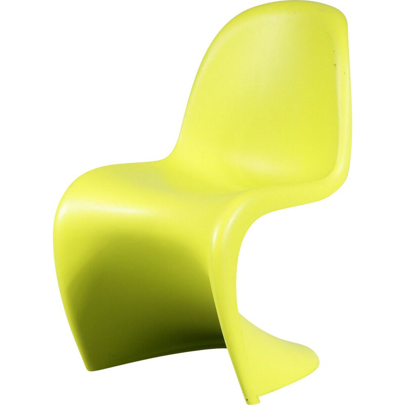 Vintage children's chair by Verner Panton for Vitra Germany 1960s