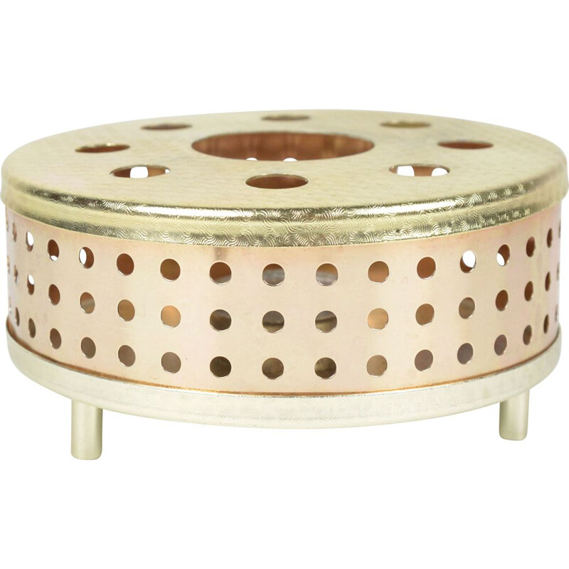 Vintage copper candle warmer Germany 1970s