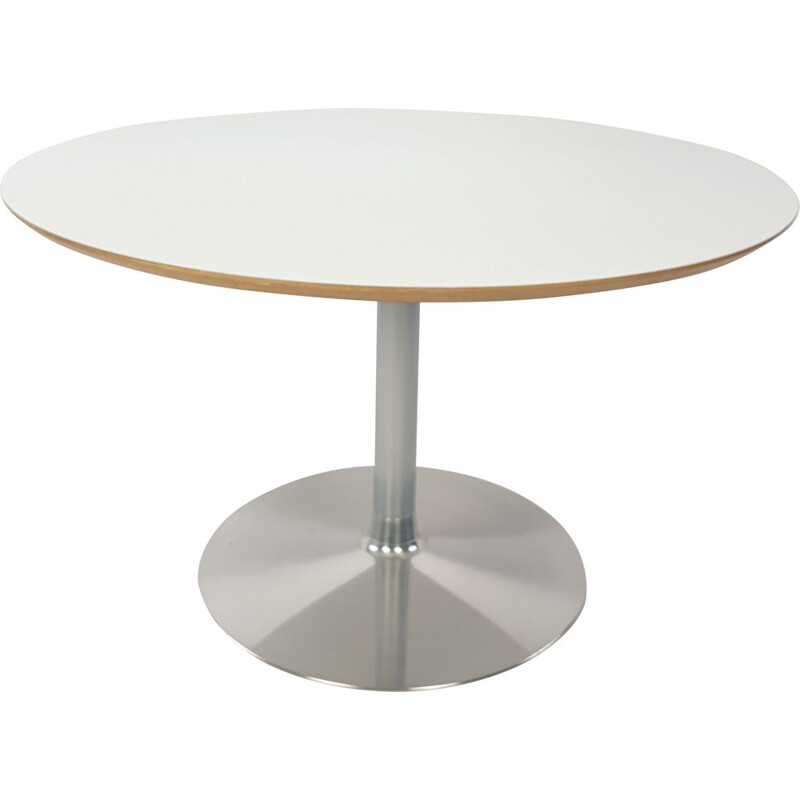 Vintage table round by Pierre Paulin for Artifort 1980s