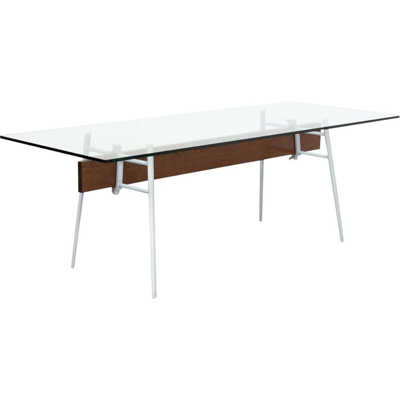 Vintage glass table by Philippe Starck for Cassina 1990s