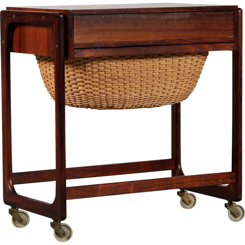 Vintage sewing table by BR Gelsted Denmark 1960s