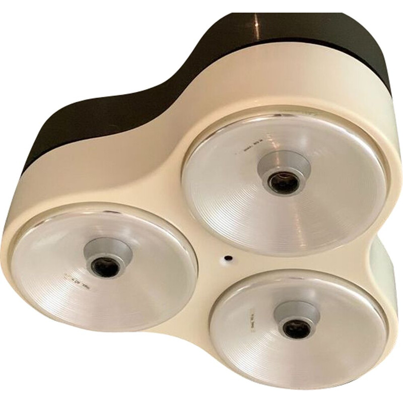 Vintage ceiling or wall light model 5032 by Harvey Guzzini for Harveiluce 1970s