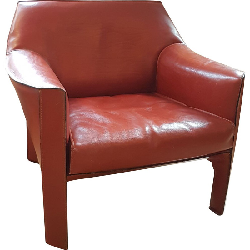 Vintage armchair CAB 415 by Mario Bellini by Cassina