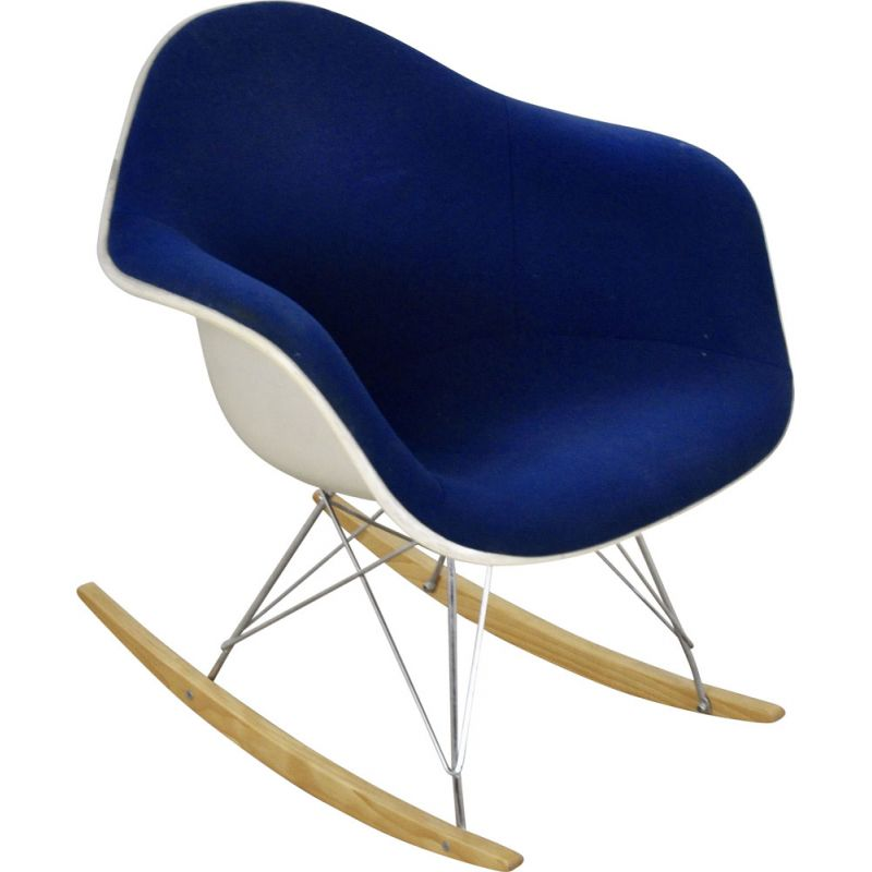Vintage rocking chair by Charles &Ray Eames for Herman Miller 1960s