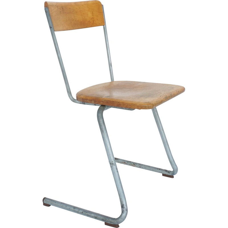 Vintage Bauhaus stacking chairs from Germany 1930s