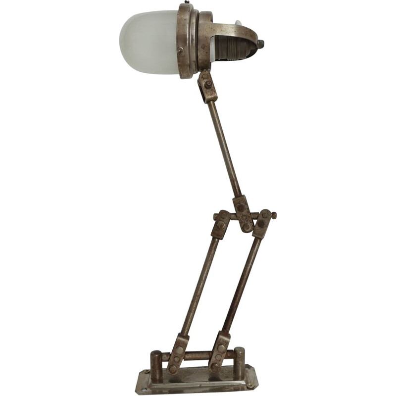Industrial wall lamp France 1930