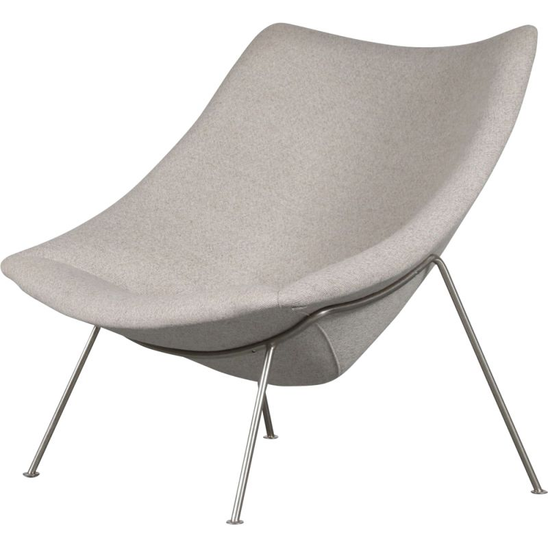 Vintage Oyster chair by Pierre Paulin for Artifort Netherlands 1950s