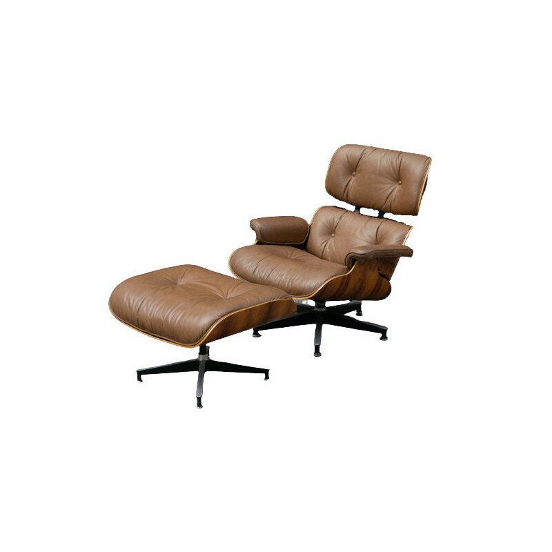 Vintage Charles & Ray Eames Herman Miller  Lounge Chair USA 1960s