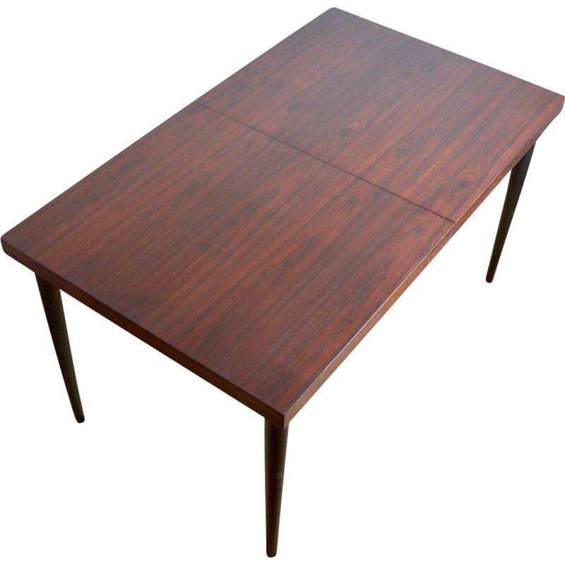 Vintage rosewood table by Cees Braakman for Pastoe 1960s