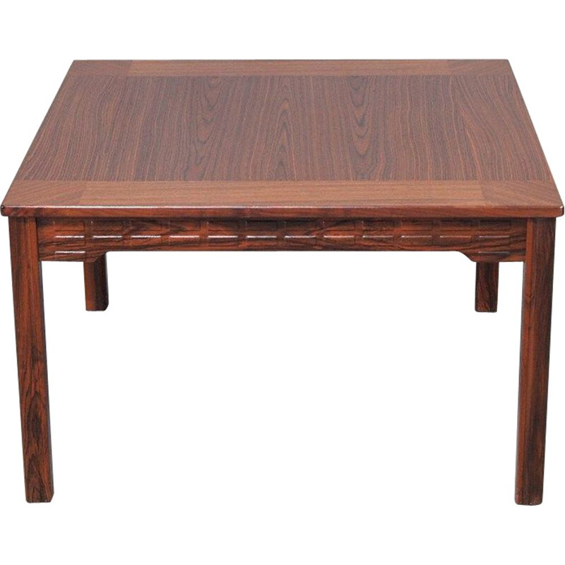Vintage rosewood coffee table by Alberts Tibro 1970s