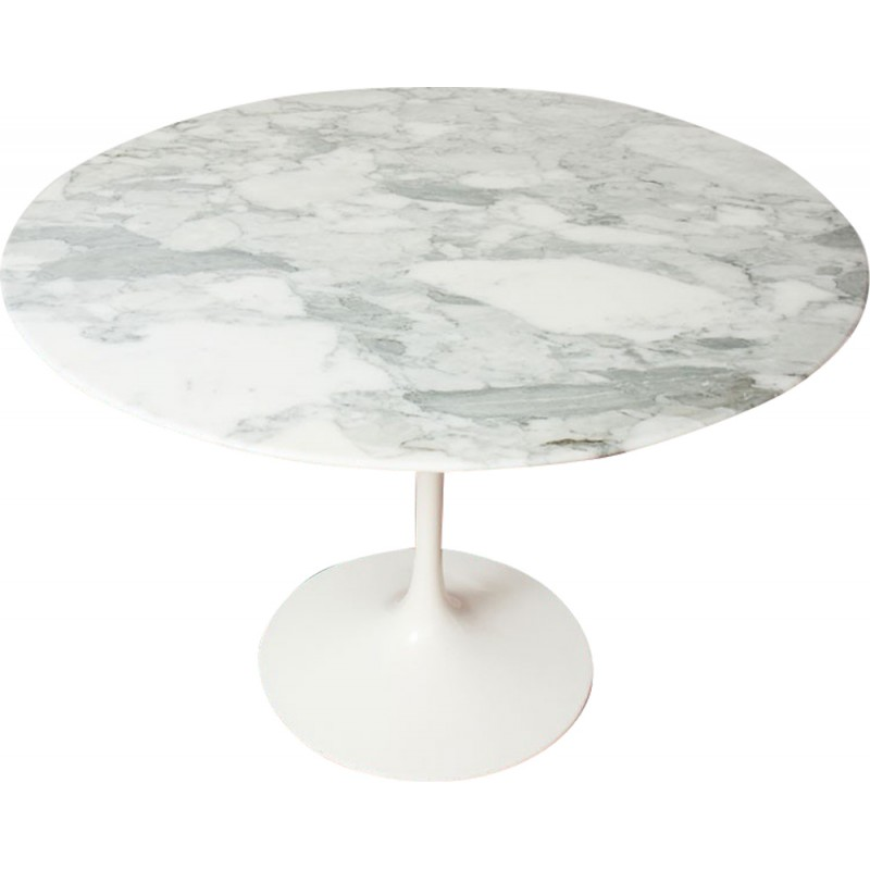 Knoll Tulip Table In Marble, Eero SAARINEN   1970s