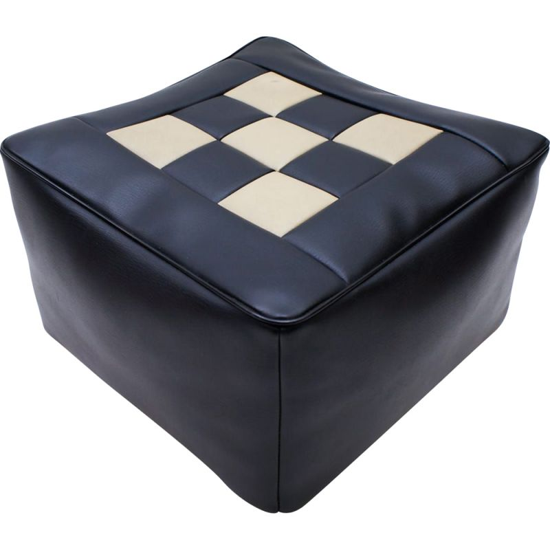 Vintage seat cushion for space age chess board 1970s