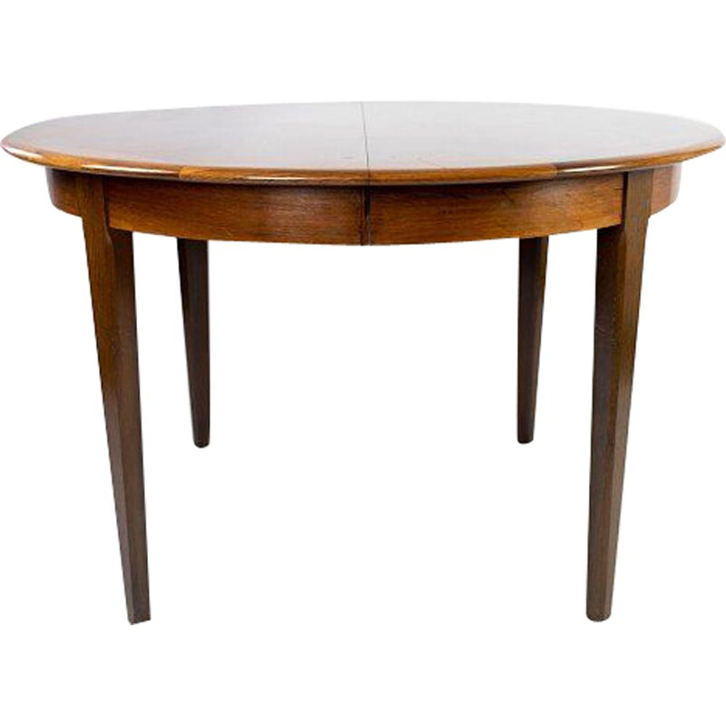 Vintage dining table in rosewood with two extension plates, Denmark 1960s