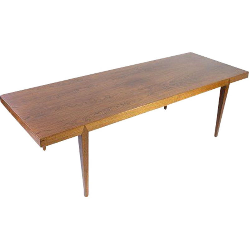 Vintage coffee table in rosewood by Severin Hansen for Haslev Furniture, 1960s