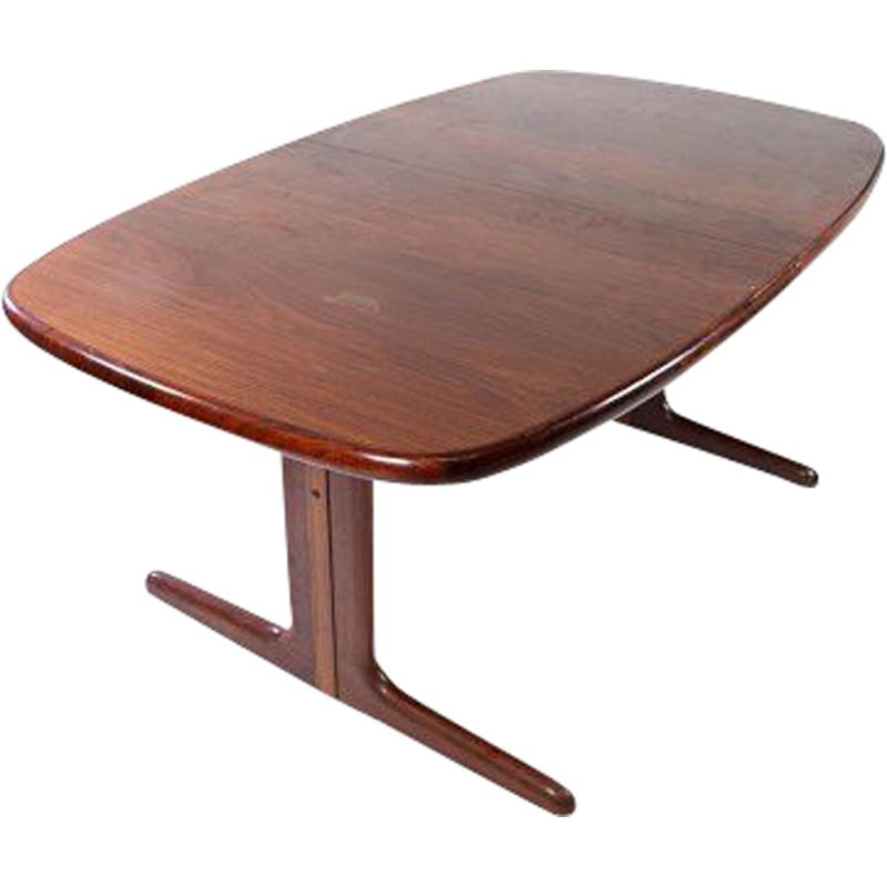 Vintage rosewood extensible table by Skovby Denmark 1960s