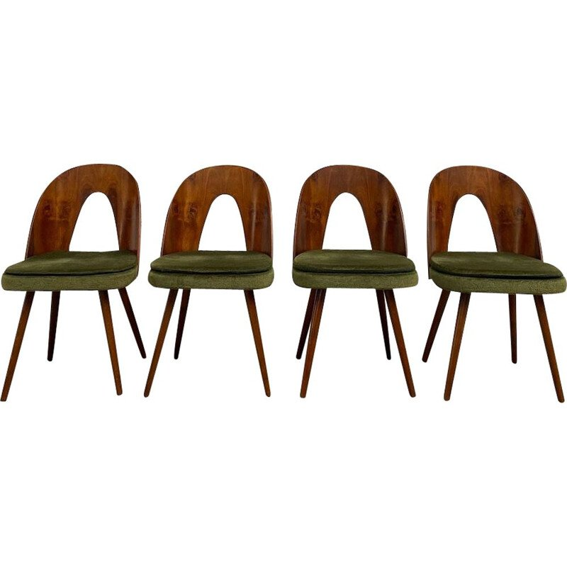 Set of 4 vintage chairs by A. Suman 1960s