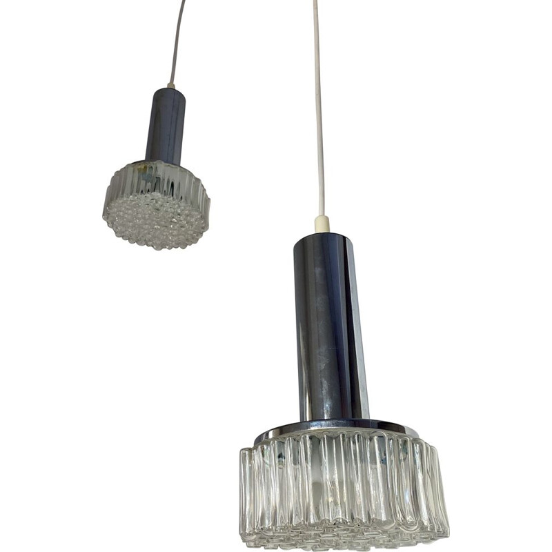 Pair of vintage Staff hanging lamps 1960s