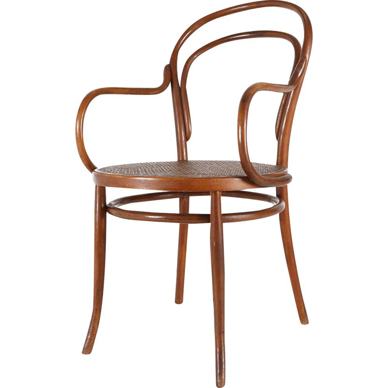 Vintage Thonet style chair 1950