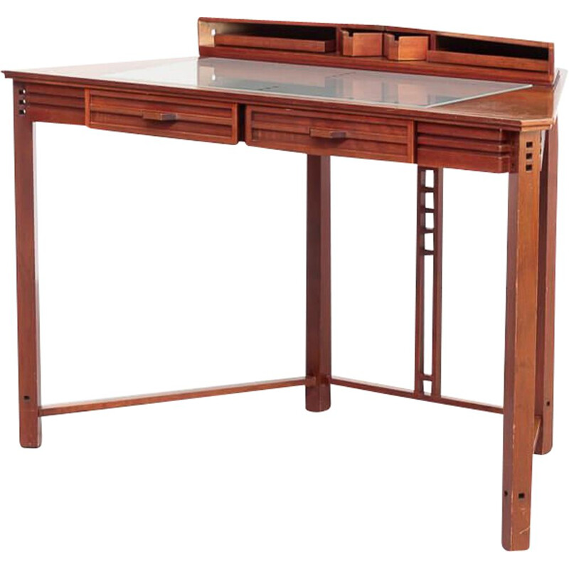 Vintage writing desk galaxy by Umberto Asnago for Giorgetti 1980