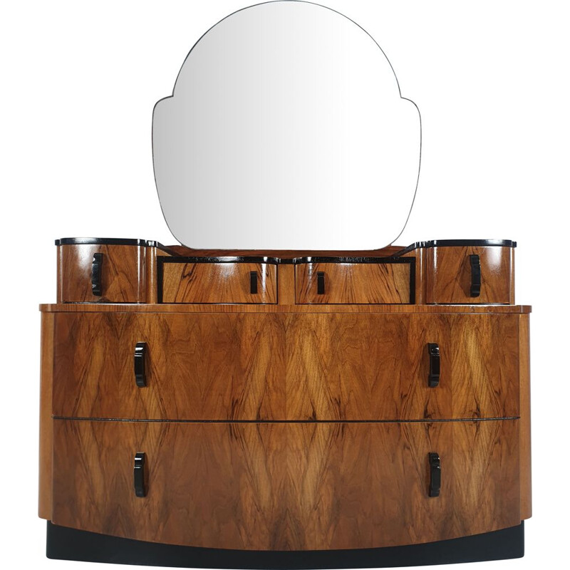 VIntage dressing table by Jindrich Halabala for UP Závody, 1950s