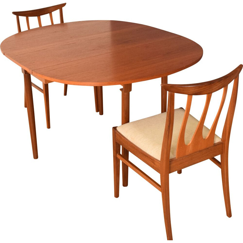 Mid century teak dining table by Victor Wilkins for G Plan, 1960s