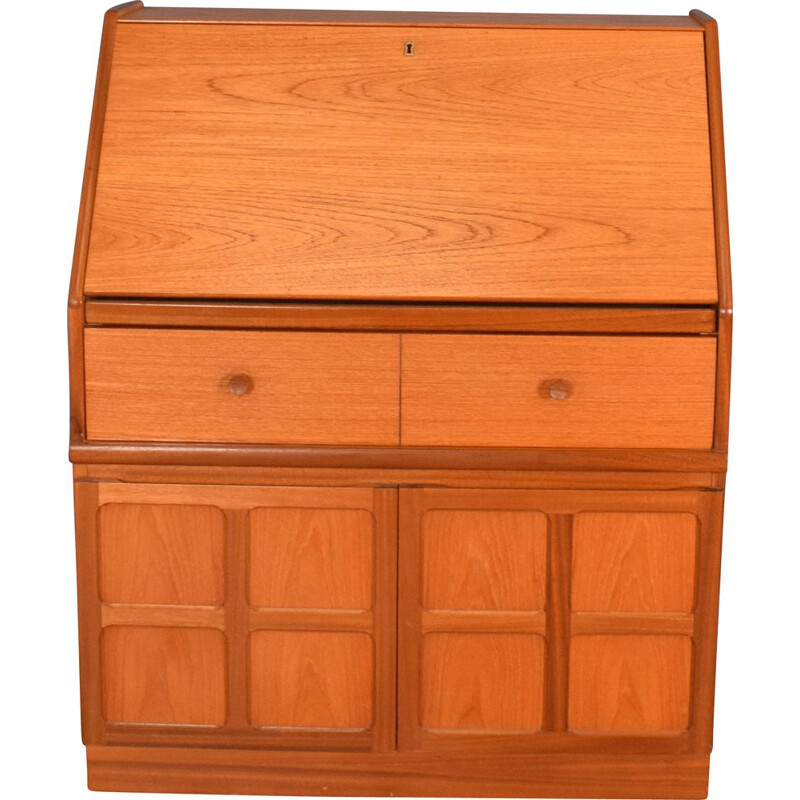 Mid century squares teak desk by Nathan, 1960s