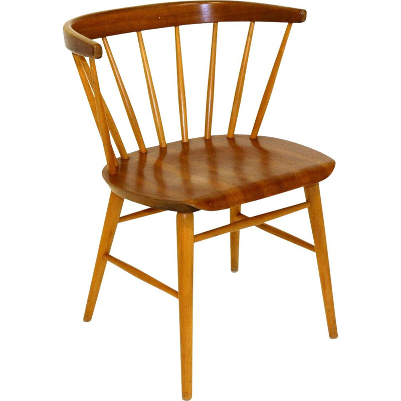 Vintage chair N 147 by the Wigells brothers for Florett, 1950