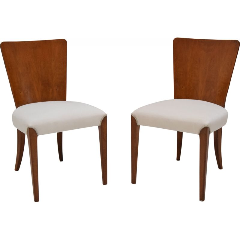 Pair of mid century chairs by Jindrich Halabala,1950s